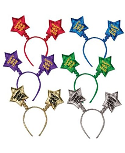 [Happy New Year Star Boppers 1/pkg, Pkg/3] (Happy New Year Boppers)