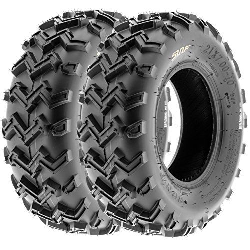 SunF ATV UTV Front Tires 24x8-12 24x8x12 4 PLY A001 (Set Pair of 2) by SunF