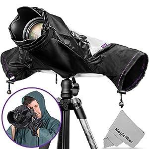 Altura Photo Professional Rain Cover for Large Canon Nikon DSLR Cameras