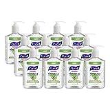 PURELL NATURALS - Advanced Hand Sanitizer - 12 oz Pump Bottle (Pack of 12)