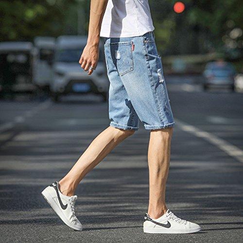 Hellblau Mirecoo Jeans 56 Uomo Relaxed fOtwqOS