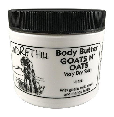 Windrift Hill Body Butter for Very Dry Skin (Goats N' Oats - Butter Goats