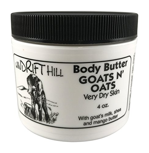- Windrift Hill Body Butter for Very Dry Skin (Goats N' Oats (Almond))