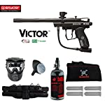 MAddog Spyder Victor Beginner HPA Paintball Gun Package