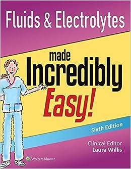 Book Lww Fluids & Electrolytes Mie 6e eBook; Lww Docucare Two-Year Access; Plus Lww Coursepoint+ for Hinkle 13e Package