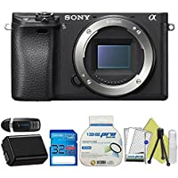 Sony Alpha a6300 Mirrorless Digital Camera (Body Only) + Starter Accessory Bundle - International Version Advantages Review Image
