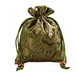 2500 Silk Brocade Sachet Candy Drawer Pouch Jewelry