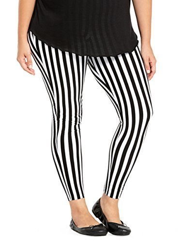 Striped-Leggings