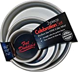Fat Daddios Celebration Set Round Cake Pans, 3 Piece
