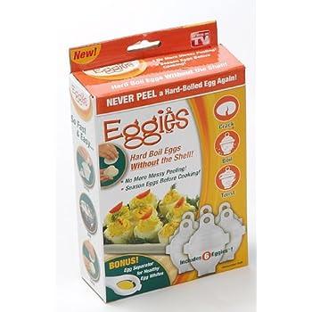 Eggies Egg Cooker - As Seen On TV