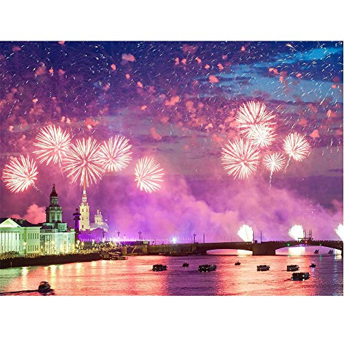 AKwell 5D DIY Diamond Painting Landscape Painting Only Beautiful View Embroidery Paintings Rhinestone Pasted Cross -