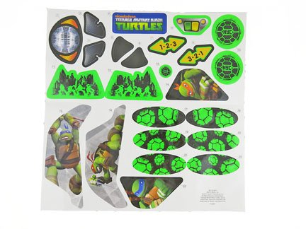Fisher-Price Teenage Mutant Ninja Turtles Lights & Sounds - Replacement Stickers