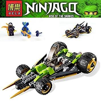Amazon.com: Bela 285pcs Phantom Ninja Ninjago Coles – Banda ...