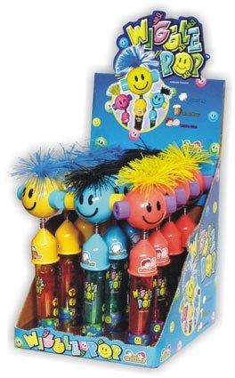 Kidsmania Wiggle Pops Novelty Candy Lollipops