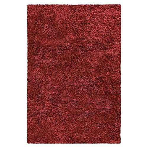 Superior Bresnan Collection Small Area Rug 3 x 5 – Kitchen,Dining, Living Room – Burgundy