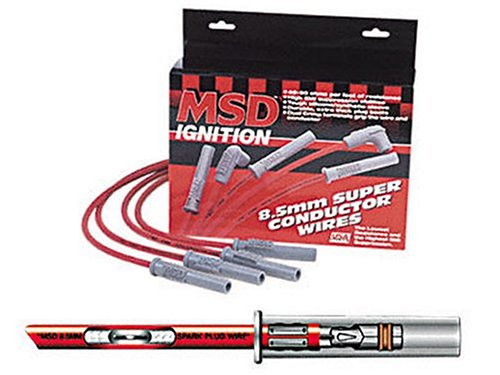 MSD 31199 8.5mm Super Conductor Spark Plug Wire Set