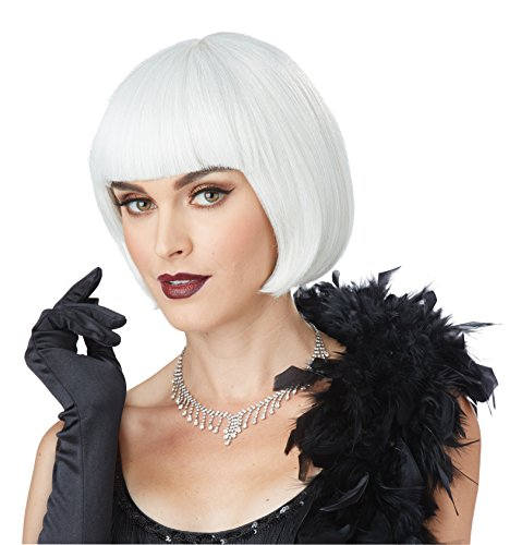 California Costumes Women's Flapper Wig, ASH Blonde, One Size -