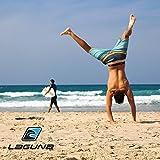 LAGUNA Mens Sundown Ombre Stripe Boardshorts Swim