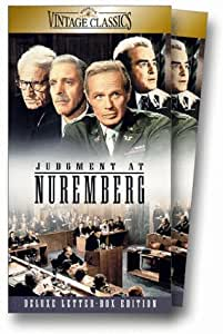 Judgment at Nuremberg (Widescreen Edition) [VHS]