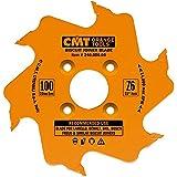 CMT 240.006.04 Biscuit Joiner Blade, 4-Inch Diameter x 6 Teeth, PTFE-Coated.
