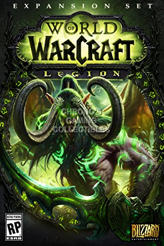 CGC Huge Poster - World of Warcraft Legion BOX ART PC - EXT178 (16