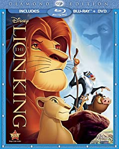 Cover Image for 'Lion King (Two-Disc Diamond Edition Blu-ray / DVD Combo in Blu-ray Packaging), The'