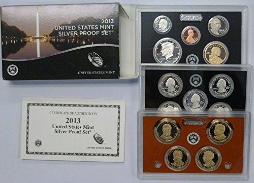 2013 S United States Mint Silver Proof Set OGP (2013 United States Mint Silver Proof Set)