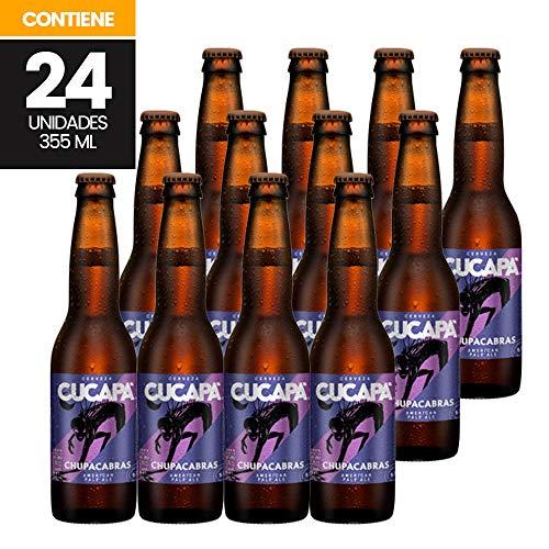 Cerveza artesanal mexicana, Cucapá chupacabras, 24 piezas de 355 ml