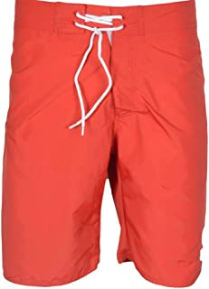 Franklin & Marshall UA950 Beachwear Unisex Fire Red Swim Shorts
