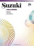 Suzuki Viola School, Vol 4: Viola Part, Book & CD