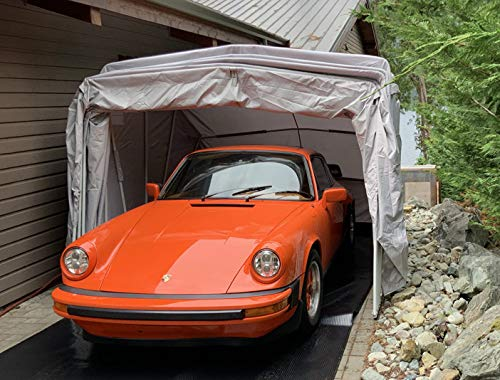 Ikuby All Weather Proof Medium Carport, Car Shelter, Car Canopy, Car...