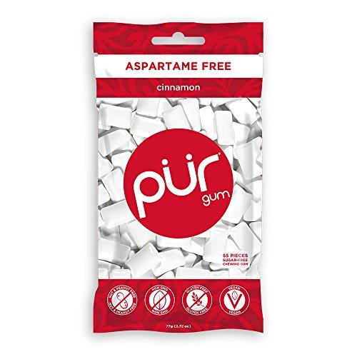 PUR Gum Aspartame Free Cinnamon, 2.72 Ounces