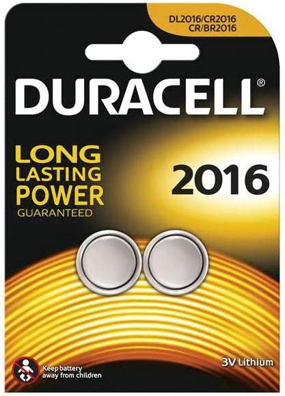 Duracell Cr2016 Lithium Knopfzelle 2 Stück Kamera