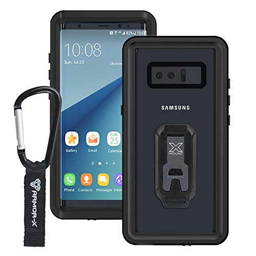 ARMOR-X Samsung Galaxy Note 8 IP68 2 meter waterproof case with Carabiner by Armor-X