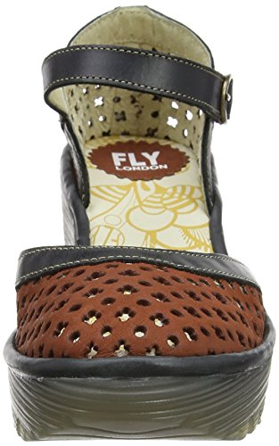 Fly Londra Damen Yadu732fly Wedge Rot (mattone / Nero 002)