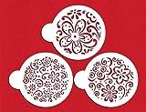 Color Splash Cookie Stencil Set by Designer Stencils
