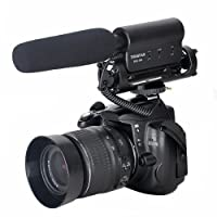 TAKSTAR SGC-598 Photography Interview Shotgun MIC Microphone for Nikon Canon DSLR Camera with Fur Wsheild by TAKSTAR