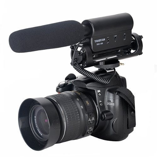 SGC-598 Photography Interview Shotgun MIC Microphone for Nikon Canon DSLR Camera (Need 3.5mm Interface)