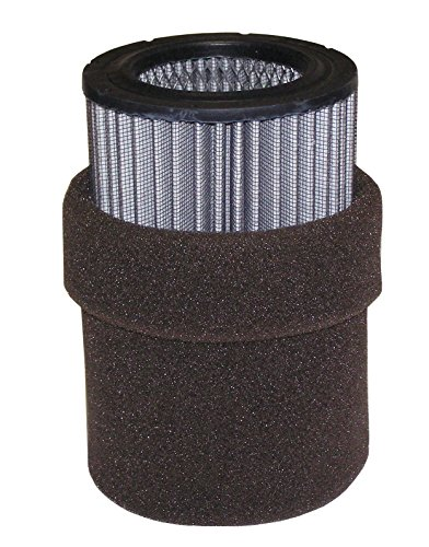 Solberg 231P Replacement Polyester Filter Element with Prefilter, 9-1/2'' Height, 3-5/8'' Inner Diameter, 5-3/4'' Outer Diameter, 300 SCFM by Solberg