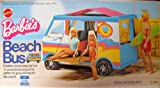 Barbie BEACH BUS - Van Motor Home with 19 Pieces of Gear! (1972 Mattel Hawthorne)