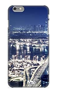 New Style Kathewade Panoramic View Of Hong Kong At Night Premium Tpu Cover Case For Iphone 6 Plus