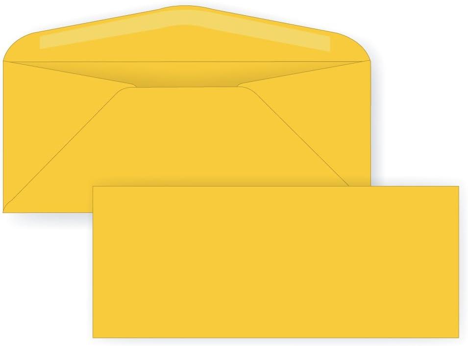 # 10 Regular封筒 – 24 #ゴールデンロッド( 4 1 / 8 x 9 1 / 2 ) – ビジネスシリーズ(パステル) (ボックスof 1000 )