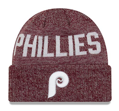New Era Philadelphia Phillies MLB Cooperstown Crisp Colored Cuffed Knit ()