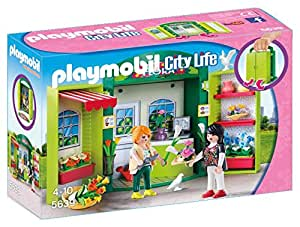 PLAYMOBIL Flower Shop Play Box Building Kit