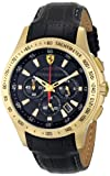 Scuderia Ferrari Men's 0830042 Analog Display Japanese Quartz Black Watch, Watch Central