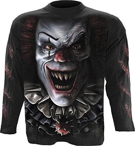 Spiral - Mens - CIRCUS OF TERROR - Longsleeve T-Shirt Black - M