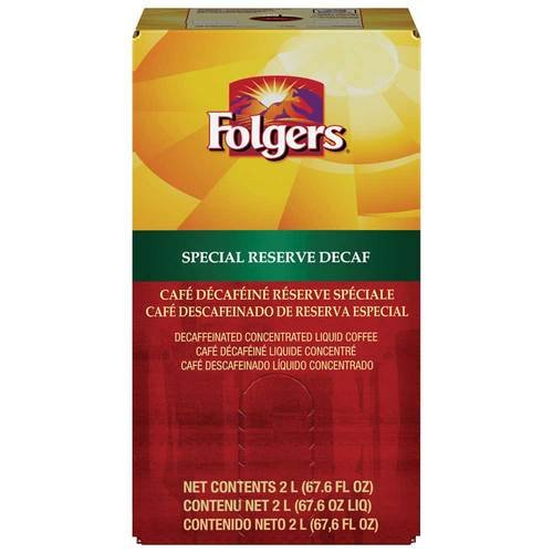 Folgers Special Reserve Decaffeinated Coffee, 2 Liter -- 2 per case. by Folgers