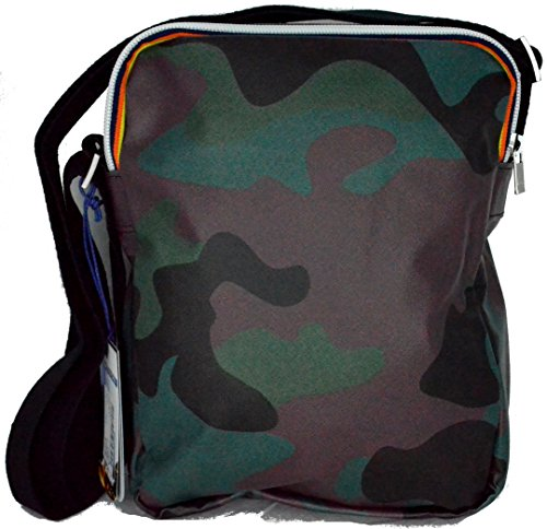 Borsa Borsello Uomo Donna Tracolla K-Way Bag Men Woman K.Camouflage Medium Ammo K1A06-Camouflage