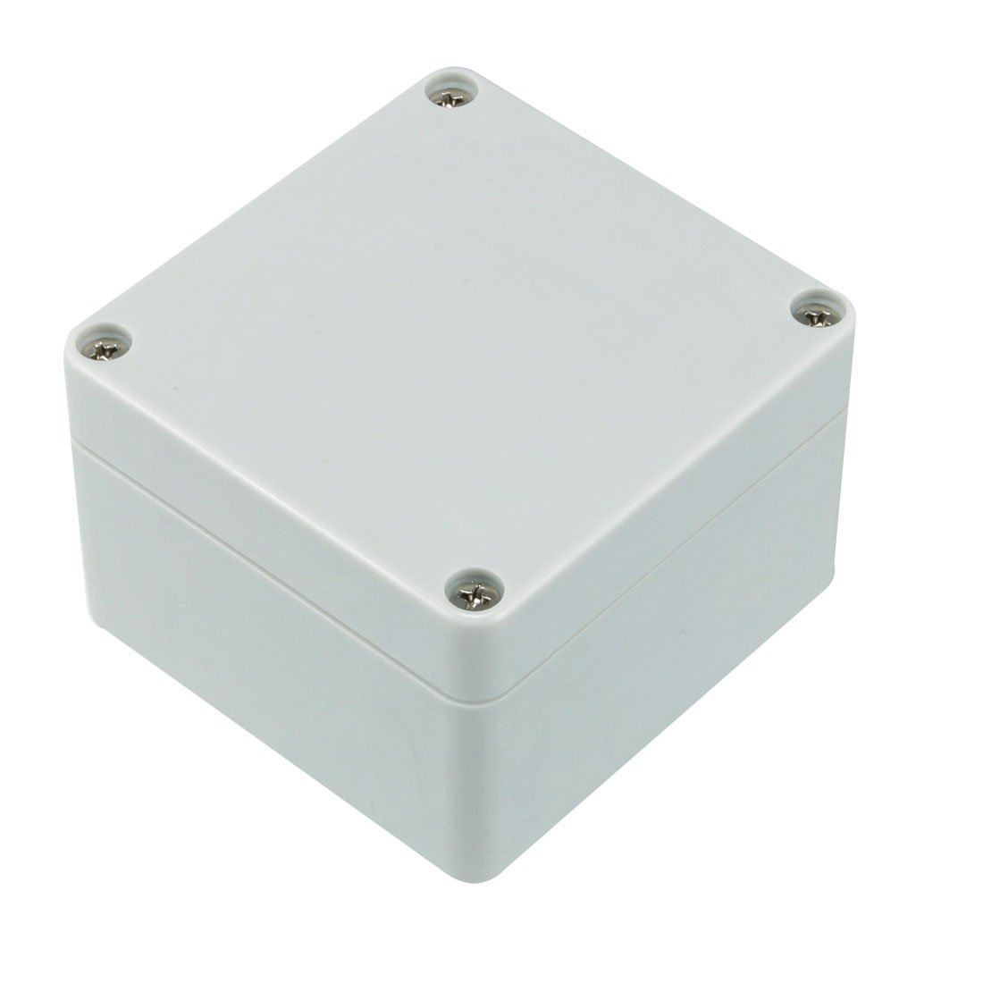 sourcingmap 83 x 81 x 56mm Electronic Plastic DIY Junction Box Enclosure Case Gray a18032100ux0346