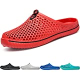 BIGU Garden Clogs Shoes Walking Sandals Quick Dry Non-Slip Floor Bath Slippers